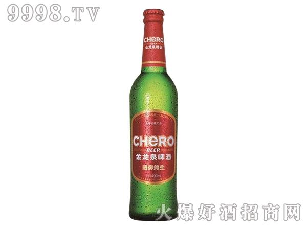金龙泉啤酒490ml8°P