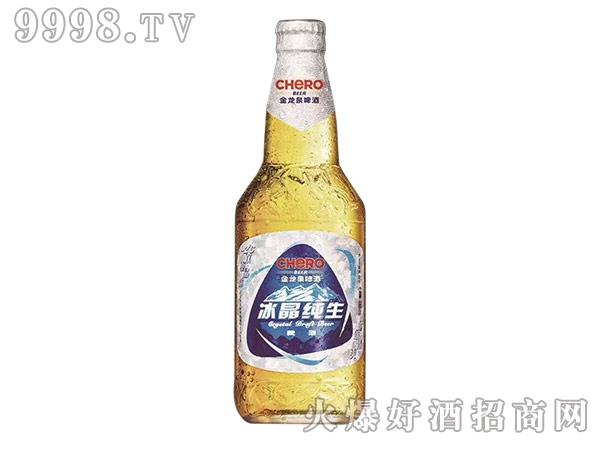 金龙泉啤酒冰晶纯生488ml8°P