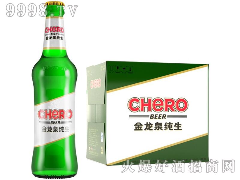 金龙泉啤酒纯生388ml8°P